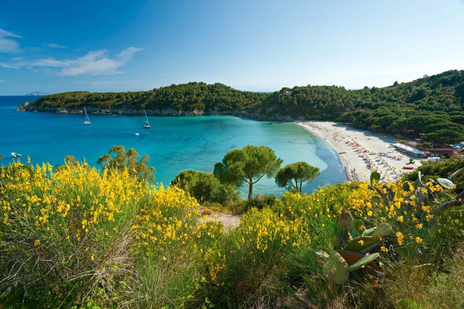 Visit Elba Island Tuscany Tourism Fetovaia