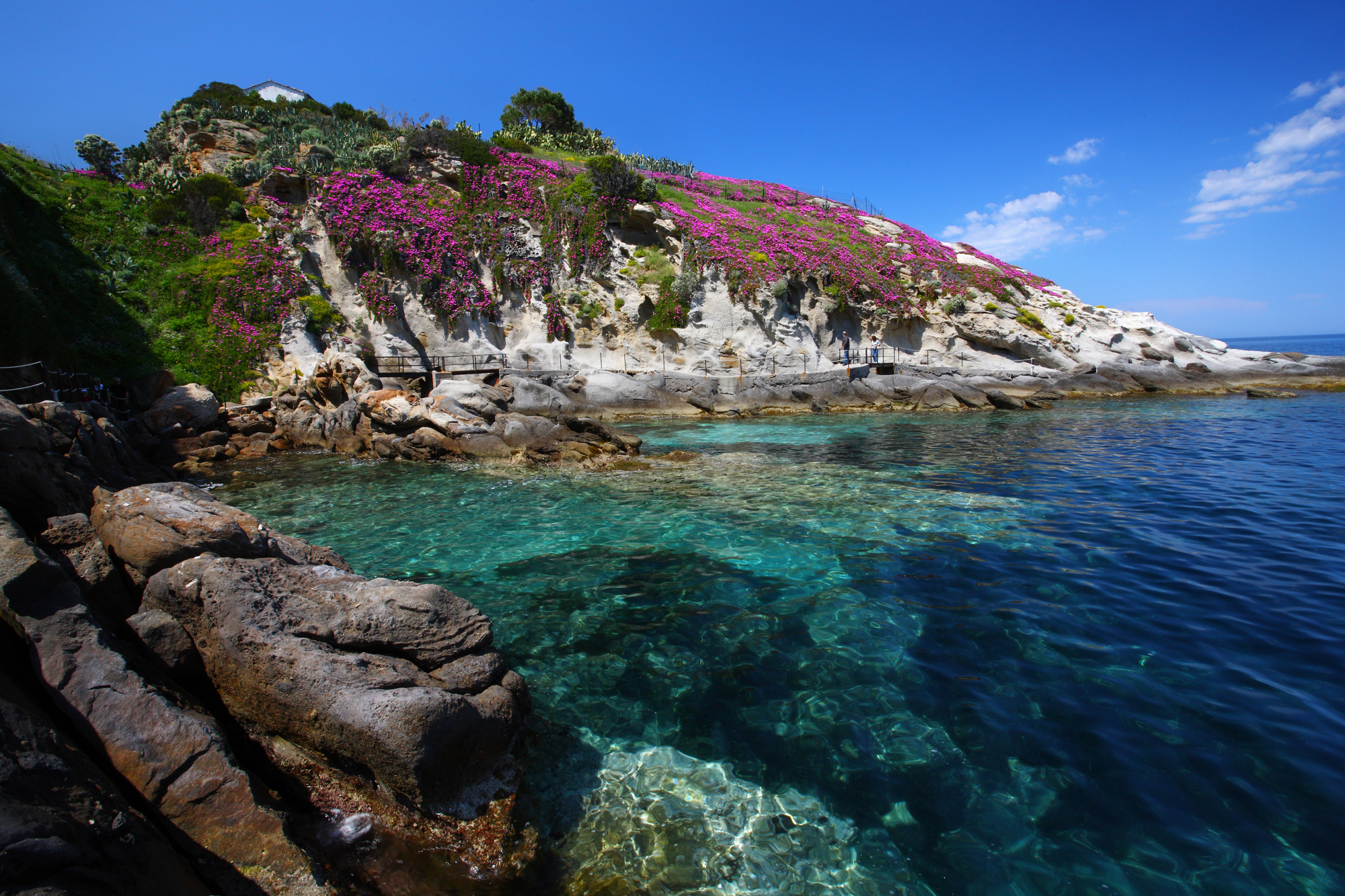 Visit Elba Island Tuscany Tourism Natural Set Design S. Andrea