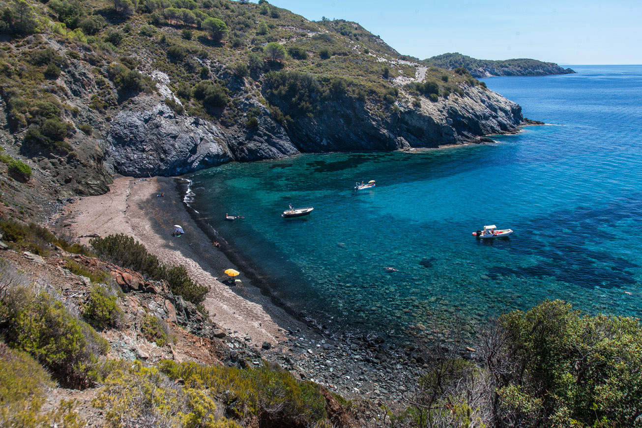 Visit Elba Island Tuscany Tourism Black Beaches